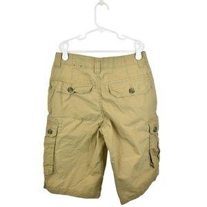 Tommy Hilfiger Bottoms - Tommy Hilfiger Tan Cotton Cargo Shorts